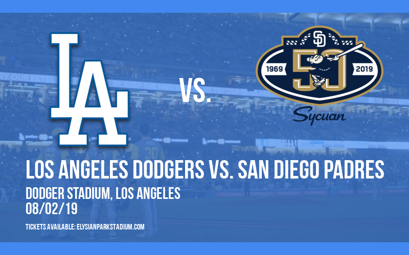 Los Angeles Dodgers vs. San Diego Padres at Dodger Stadium