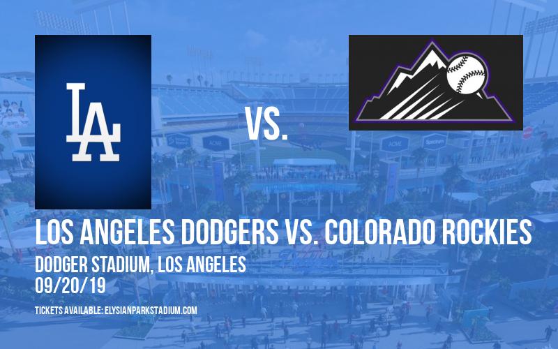 Dia de Los Dodgers Bobblehead Ticket Package: Los Angeles Dodgers vs. Colorado Rockies at Dodger Stadium
