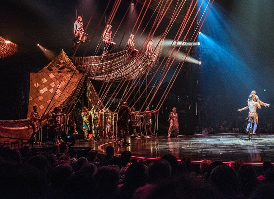 Cirque du Soleil - Volta at Dodger Stadium