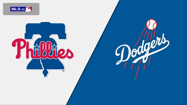 Philadelphia Phillies vs. Los Angeles Dodgers at Dodger Stadium
