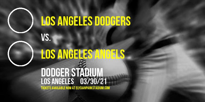 Exhibition: Los Angeles Dodgers vs. Los Angeles Angels at Dodger Stadium