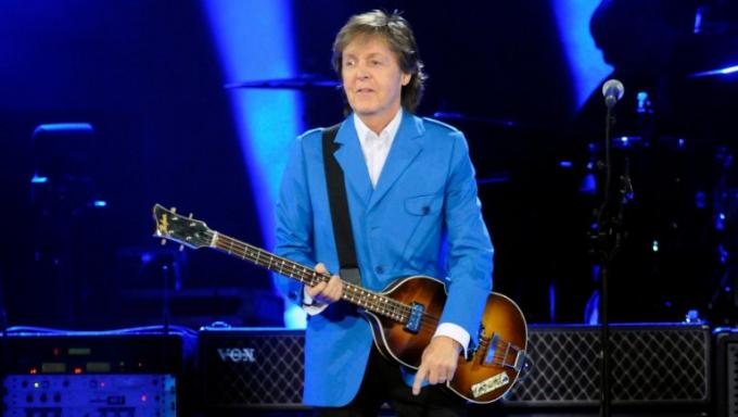 Paul McCartney at Dodger Stadium