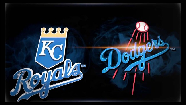 Kansas City Royals vs. Los Angeles Dodgers at Dodger Stadium