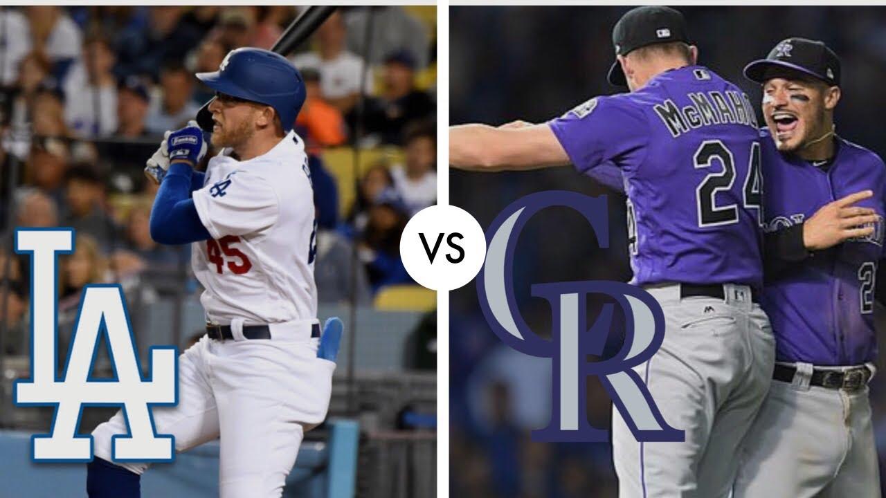 Colorado Rockies vs. Los Angeles Dodgers at Dodger Stadium